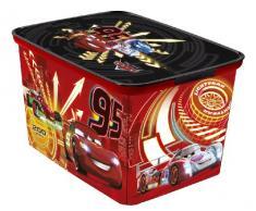 Curver 217720 Caja caja de juguete y de almacenamiento - cajas de juguetes y de almacenamiento (Toy storage box, Rojo, Independiente, Imagen, Habitación de los niños, 400 mm)