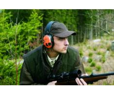 3M Pentor SportTac, Orejeras de protección, protector auditivo, 26 dB, plegable, 1 unidad/caja, Verde (Green)