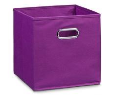 Zeller 14135 Vlies - Caja de almacenaje (28 x 28 x 28 cm), color morado