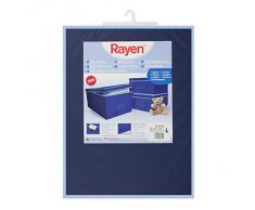 Rayen 2319.50 - Caja para almacenaje de ropa, 48 x 36 x 19 cm, color azul