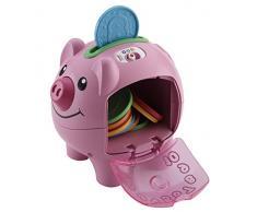 Fisher-Price - Cerdito, hucha interactivo (Mattel CDH17)