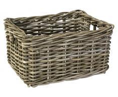 Fastrider, biciclieta-canasto, júnior, material: Rattan, color: gris