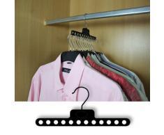 Hangerworld - 6 Perchas Ahorra Espacio -Ideal para Viajes - 22.5 cm
