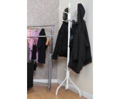 Premier Housewares - Perchero de pie (184 cm), color blanco