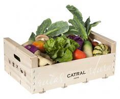 Catral 72020034 - Caja de 29 frutas y verduras surtidas , varios colores