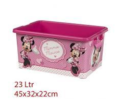 MINNIE MOUSE Caja Ordenación 23 litros - 45x32x22 cm