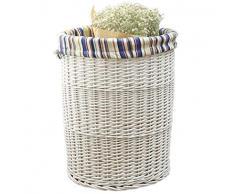 Cesto de Ropa Premium, Cesta de lavandería plegabl Coloque la Ropa Sucia Canasta de Almacenamiento Big Storage Bucket Laundry Basket Rattan (Color : Large)