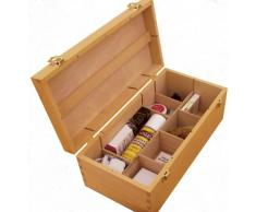 Colourfull Arts Howden - Caja para almacenaje (madera de haya)