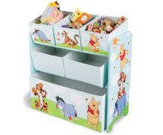 Delta Children TB84686WP caja de juguete y de almacenamiento - cajas de juguetes y de almacenamiento (29,85 cm, 66,04 cm, 63,5 cm, Multi, Tela, Madera, 2 Año(s))