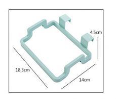 westeng 1pc portátil armario de cocina de plástico bolsa de basura de basura bolsa de almacenamiento soporte para colgar