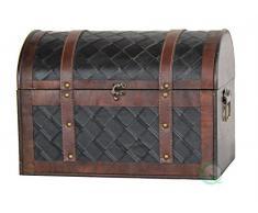 El cofre del tesoro de manera rápida las importaciones piel de madera
