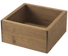 Rangement & Cie RAN7002 - Caja de almacenaje apilable (madera de pino, tamaño pequeño)