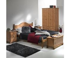 NJA Furniture Copenhagen - Baúl (45 x 83 x 42 cm), color marrón