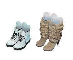 1 par regla multifunción automático apoyo forma zapato Tree- Tall Short Boot Shaper inserciones de árbol de botas de caña alta zapatos muslo soporte percha para las mujeres Lady más zapatos