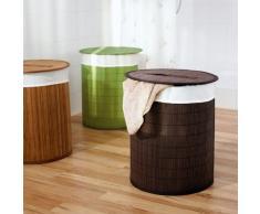 Ridder 21005008 - Cesto para colada, bambú (aprox. 37 x 50 cm), color marrón