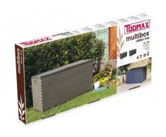 Toomax Multibox Rattan Line - Baúl, 420 l