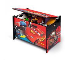 Delta Children Cars - Caja de juguetes, unisex