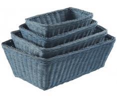 Rangement & Cie RAN6640 - Cesto de almacenaje, color azul