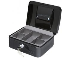 5 Star 918885 - Caja caudales, 20 cm, color negro