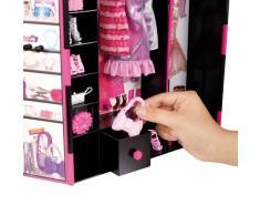 Barbie - Armario plegable con accesorios (Mattel X5357)