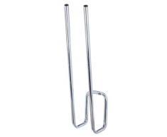 GAH-Alberts - Soporte colgante para un par de botas (acero galvanizado, 12 mm de diámetro, 9 x 12 x 6 cm)
