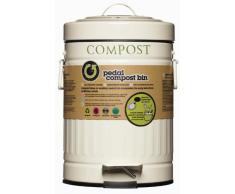 Kitchen Craft - Papelera a Pedal para Compost (3 L)