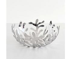 Alessi Meditterraneo - Frutero (acero inoxidable pulido 18/10), color plateado con efecto espejo