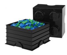 LEGO - Caja de almacenaje 8, color azul oscuro (Room Copenhagen 40041731)