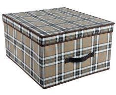 Caja de tela compra barato cajas de tela online en livingo for Cajas para guardar ropa armario