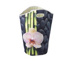Wenko 62062100 Spa cesta para la ropa sucia 60,0 x 35,0 x 2,0 cm