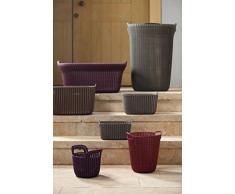 Curver 3253923971033 caja y cesta de almacenaje - cajas y cestas de almacenaje (Storage basket, Marrón, Prendas de punto, Monótono, Alrededor, Interior)