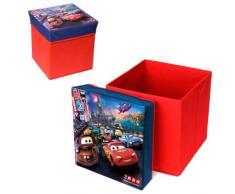 Caja taburete plegable de almacenamiento de Cars