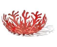 Alessi ESI01 29 R o - Frutero de acero, color rojo