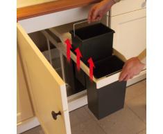 Cubo de basura compra barato cubos de basura online en for Cubos de reciclaje ikea