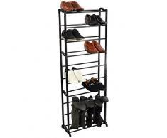 Generic YC-UK2 – 160920 – 35 < 1 & 5977 * 1 > ganizerack estante S estante de almacenamiento nuevo 23 par 8 niveles organizador unidad zapatos botas accesorio de soporte organizador nuevo 23 par