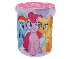 Fun House 712528 Pop Up My Little Pony cesto para ropa para niños poliéster rosa 38 x 38 x 50 cm.