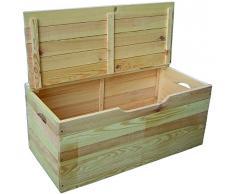 Blinky 7971707 - Baúl de madera de hibisco con tapa
