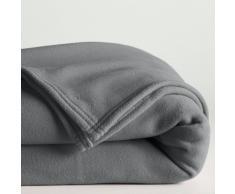 La Redoute Interieurs Manta polar 350 g/m² gris
