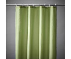SCENARIO Cortina de ducha lisa 8 colores, Scénario verde