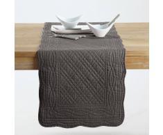 SCENARIO Camino de mesa 100% algodón gris