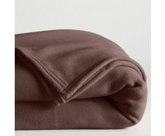La Redoute Interieurs Manta polar 200 g/m² marrón