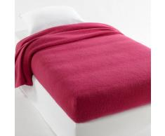 La Redoute Interieurs Manta semifunda nórdica 350g/m² 100% lana virgen woolmark rosa