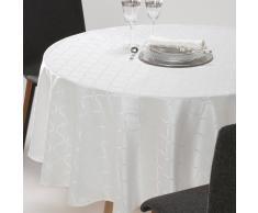 La Redoute Interieurs Mantel redondo de jacquard adamascado SALOMÉ blanco