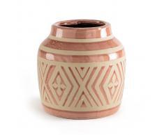 La Redoute Interieurs Jarrón de barro cocido, ANTORRE rosa
