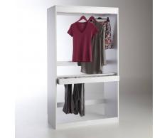 LES PETITS PRIX Módulo armario, perchero + porta pantalones Build blanco