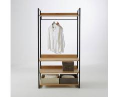 La Redoute Interieurs Módulo de armario ancho con 3 estantes y 1 ropero HIBA marrón