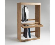 LES PETITS PRIX Módulo armario, perchero + porta pantalones Build beige