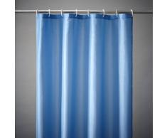 SCENARIO Cortina de ducha lisa 8 colores, Scénario azul