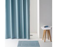 SCENARIO Cortina de ducha, SCENARIO, aspeto lona lisa. azul