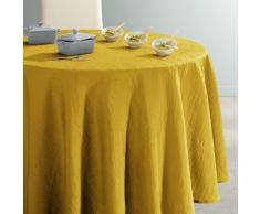 La Redoute Interieurs Mantel redondo de poliéster arrugado CERYAS amarillo